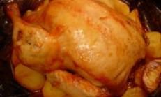 Fırın Poşetinde Kızarmış Tavuk Tarifi