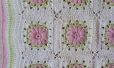 Kare Motifli Battaniye – yatak Örtüsü yapılışı