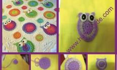 Baykuşlu Bebek Battaniyesi Yapılışı