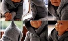 Kolay Haraşo Bebek Hırkası Yapılışı