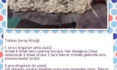 Türkan Şoray Kirpiği Örneği Nasıl Örülür