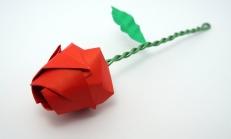 Origami Kağıt Gül Yapılışı Video