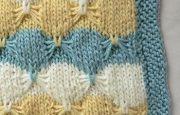 Kelebek Modeli Battaniye Yapılışı