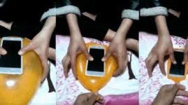 Balondan Telefon Kılıfı Yapılışı