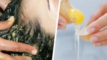 Yumurta ile Saçlara Mucize Bakım