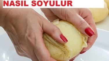 3 Saniyede Patates Nasıl Soyulur