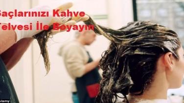 Saçlarınızı Kahve İle Boyayın