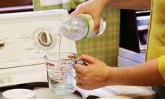Çamaşır Makinenizde Sirke Mucizesi