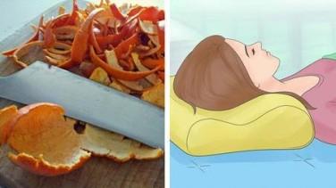 Portakal Kabuğu ile Rahat Uyuyun