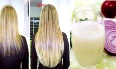 Soğan Suyunun Saçlarımıza Faydaları