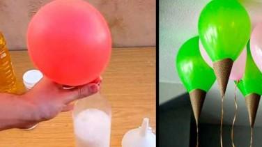 Evde Helyumsuz Uçan Balon Yapımı