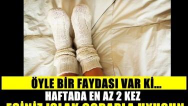 Islak Çorapla Yatarsanız