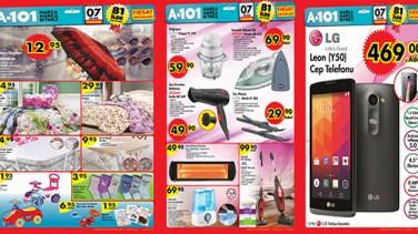 07 – 09 Ocak Hafta Kampanyası ürünleri A-101