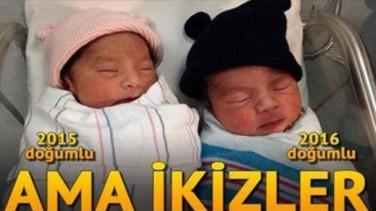 Aralarında 1 Yıl Var Ama İkizler