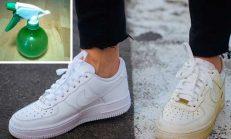Sirke ile Tertemiz Ayakkabılar…