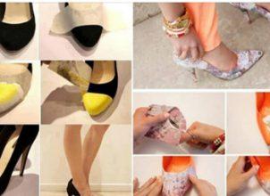 Eski Ayakkabılarımızı Atmıyoruz, YENİLİYORUZ-