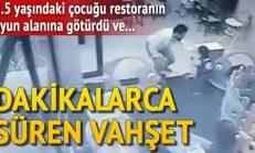 2,5 Yaşındaki Çocuğa Restoranda Şiddet