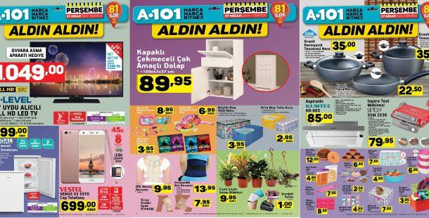 A101 İndirimli Ürünler Broşürü 27 Nisan 2017