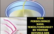 Kolay Stor Perde Temizliği Nasıl Yapılır?