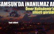 Samsun'da Ömer Halis Demir Silüeti Gurulandırdı