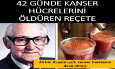 42 Günde Kanseri Bitiren Sebze Kürü