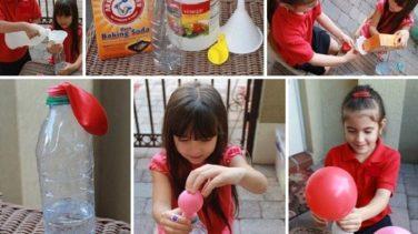 Evde Helyumsuz Uçan Balon Yapılışı…