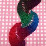 Derya Baykal Renkli Atkı Yapılışı