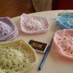 Kare Motifli Battaniye - yatak Örtüsü yapılışı