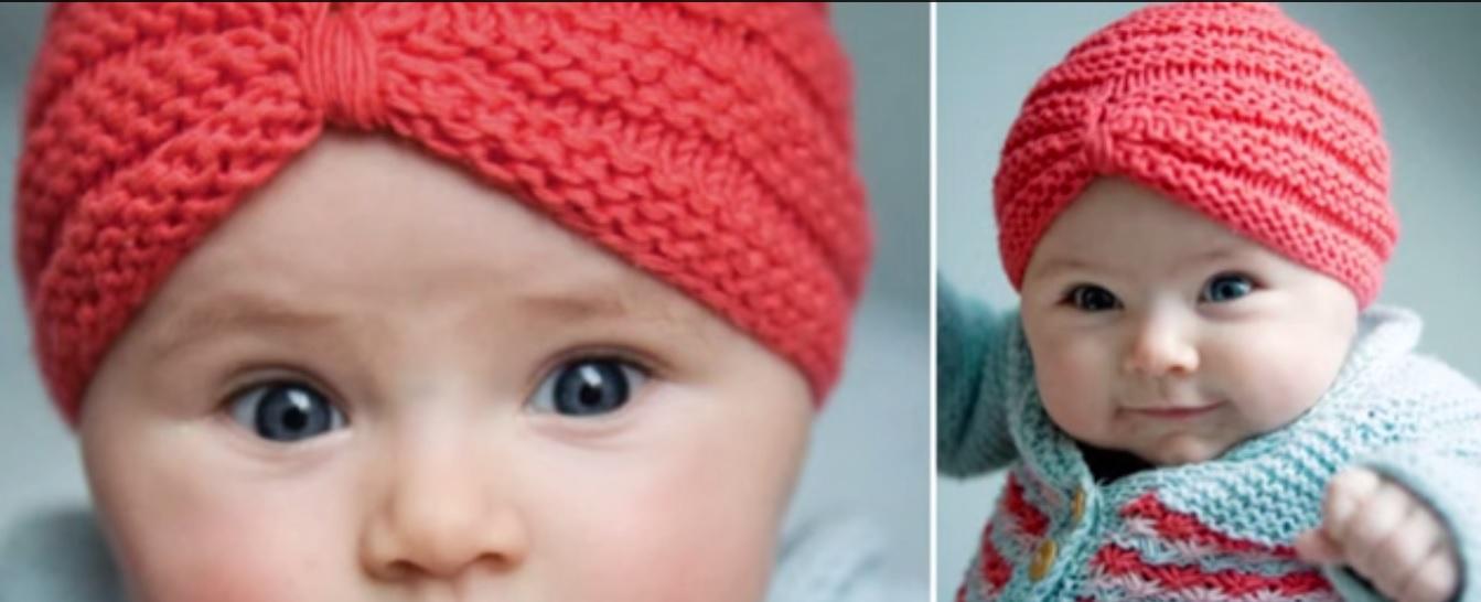 Örgü Bebek Türban Yapılışı