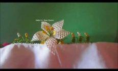 İğne Oyası Kabak Çiçeği Yapılışı
