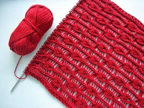 Kırmızı Şal Modelinin Yapılışı (Resimli)
