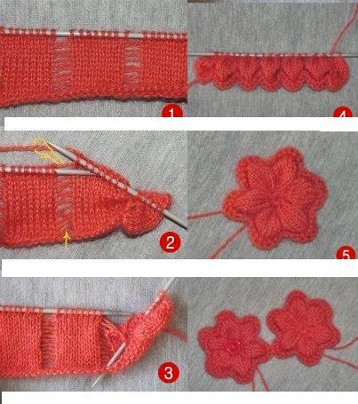Şiş ile Kolay Çiçek Yapılışı