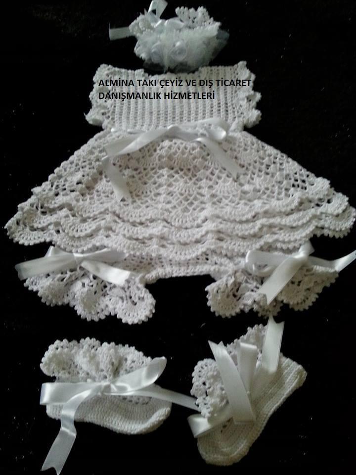 Şirin Bebek Elbisesi Yapılışı