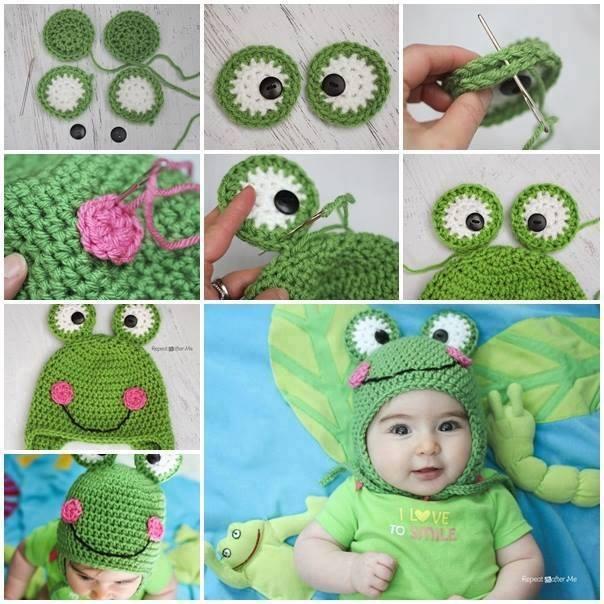 Kurbağa Şapka Modeli Yapılışı
