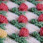 Çiçek Fıstıklı Battaniye Yapılışı