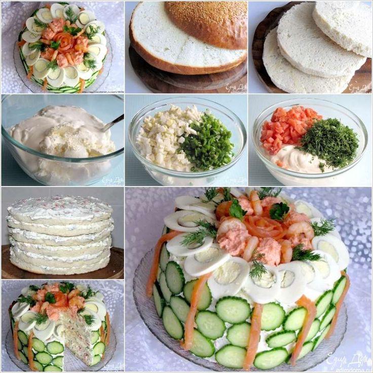 Ekmekli Sebzeli Pasta Yapılışı