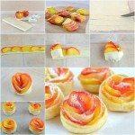 Kolay Elmalı Gül Pasta Yapımı