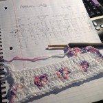 Kalp Desenli Battaniye Yapılışı