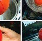 Kolay Domates Kabuğu Nasıl Soyulur