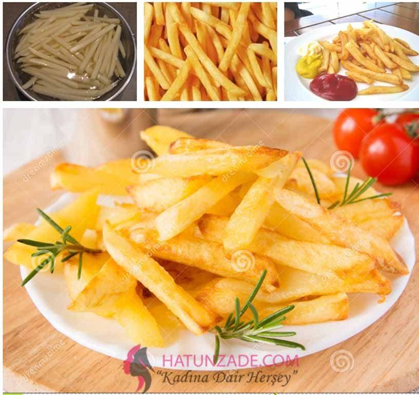 Evde Çıtır Patates Tarifi