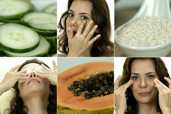 Gözlerdeki Şişlik ve Morluk için Salatalı Kürü