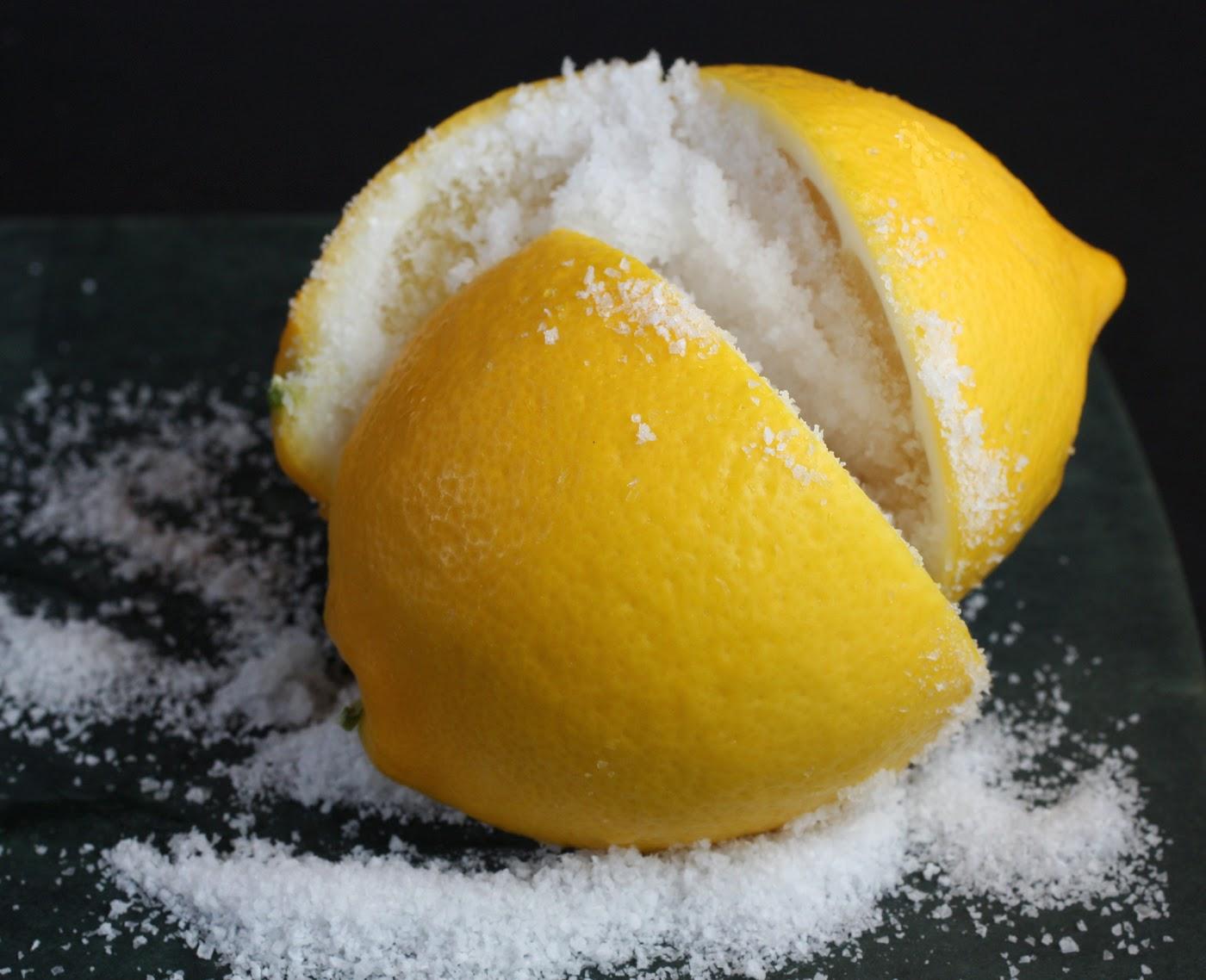 Limon Suyu ve Tuz Karışımı Tüyleri Azaltıyor