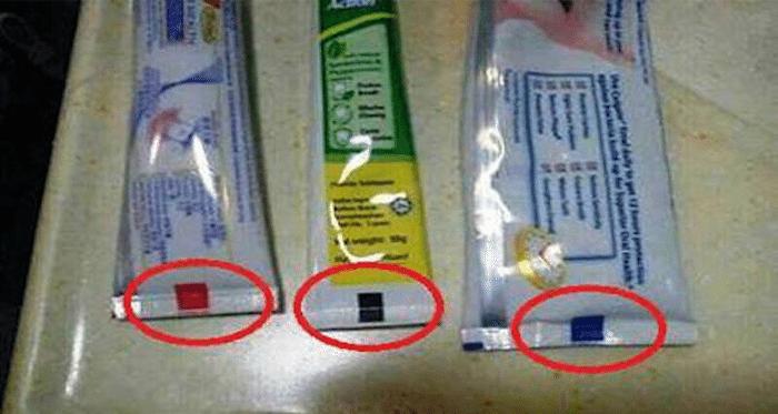 Diş Macunu Alırken Renklere Dikkat Edin