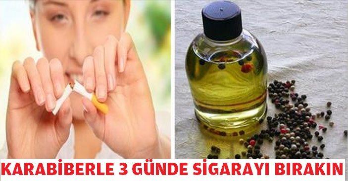 Karabiber ile 3 Günde Sigarayı Bırakın