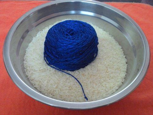 İpinizi Pirinç İle Sararak Örerseniz