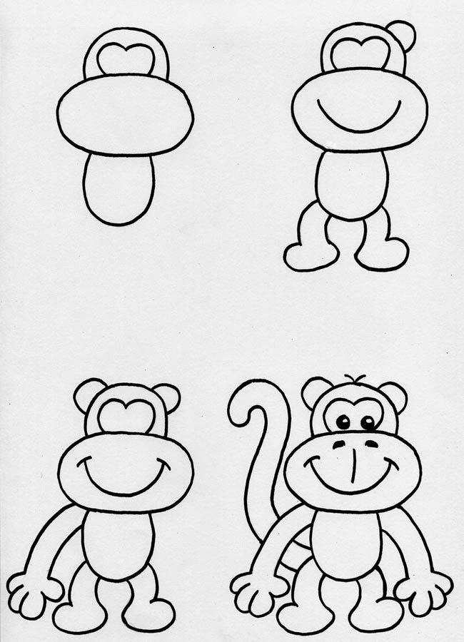 maymun-cizimi