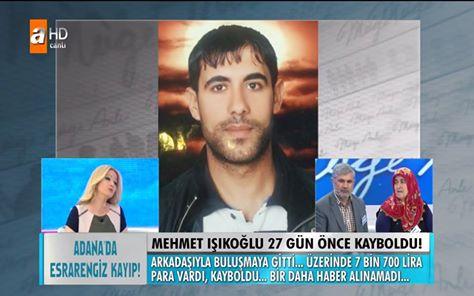 Müge Anlı ile Tatlı Sert İzle 17 Şubat 2016 - Mehmet Işıkoğlu Nerede? Öldürüldü mü ?