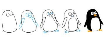 penguen-cizimi
