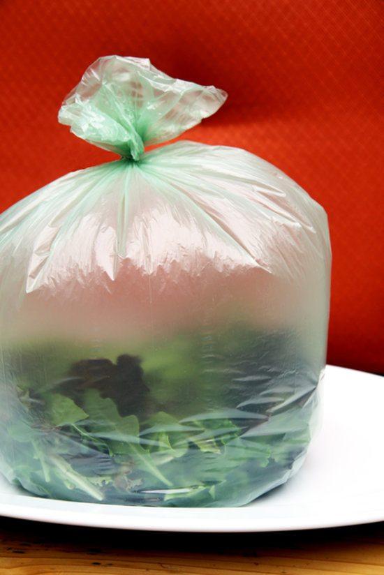 Yeşilliklerinizi Buz Dolabı poşetinde Saklayın