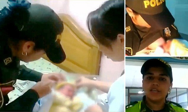 Bayan Polis, Bebeğin Canını Kurtardı
